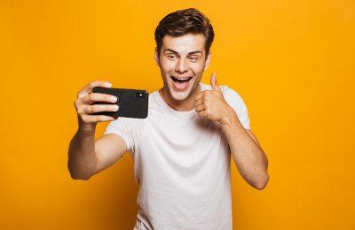 Selfies für Pakete