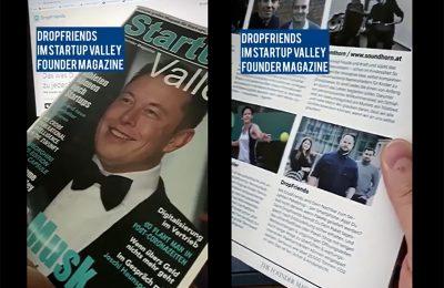 DropFriends im StartupValley – The Founder Magazine