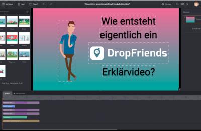 Wie entsteht eigentlich ein DropFriends Erklärvideo?